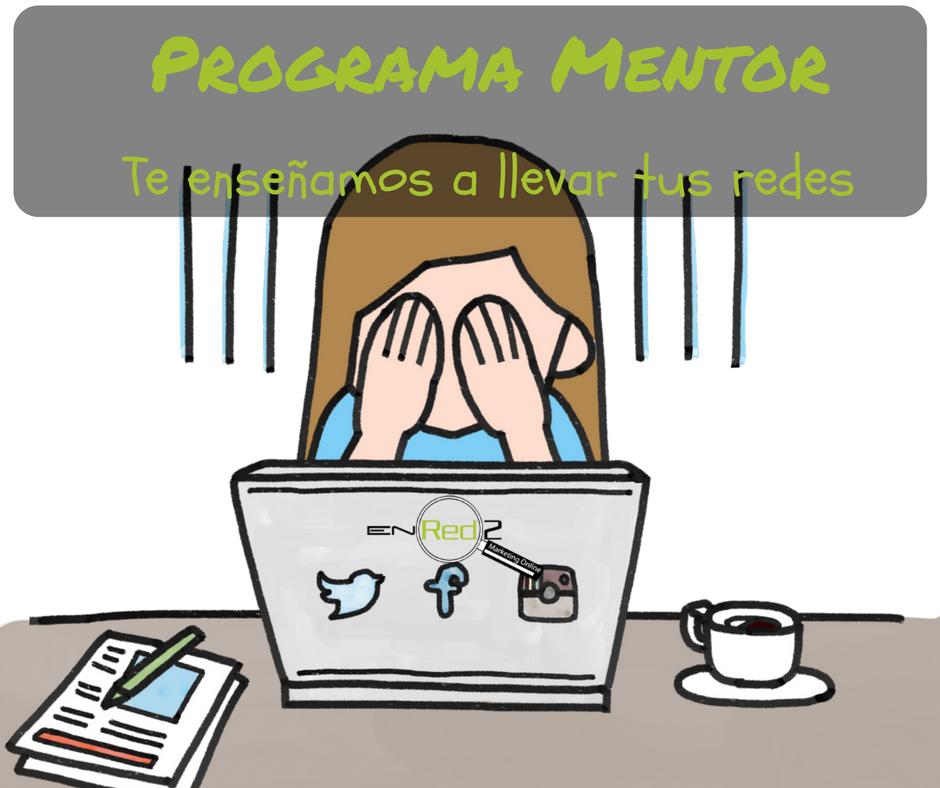 ¿En qué consiste el programa mentor de En Red2 Marketing?